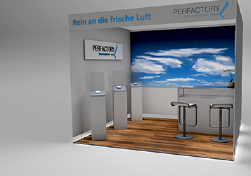Perfactory Messestand