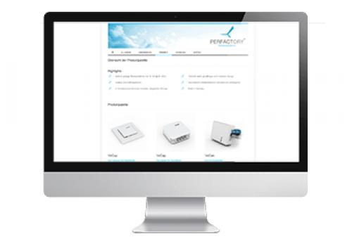 Webdesign Perfactory